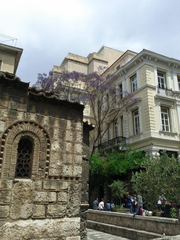 Jakarandas in Athens