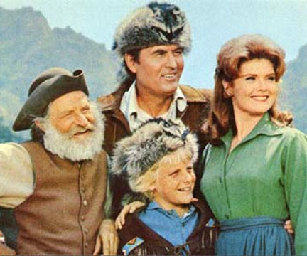 Series Cast: Daniel Boone - Fess Parker - Daniel Boone Patricia Blair - Rebecca Boone