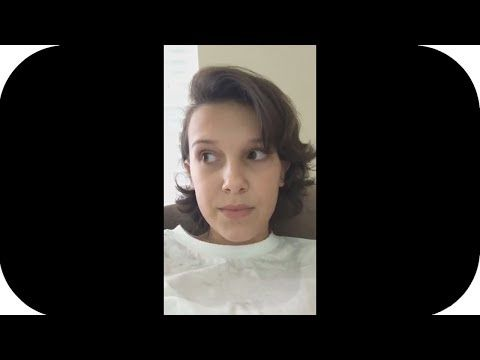 Millie Bobby Brown REACTS to Finn WolfHard Crying Over Her Dating Jacob Sartorius (Instagram Live) - YouTube