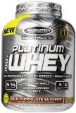 MuscleTech Platinum 100% Whey Protein Powder  Milk Chocolate Supreme  5.03 lbs (2.28kg) Reviews