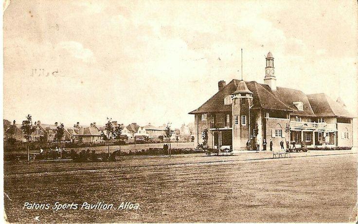 Patons Pavilion, Alloa