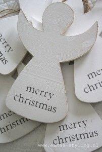 Kerstengeltjes, in vereenvoudigde vorm