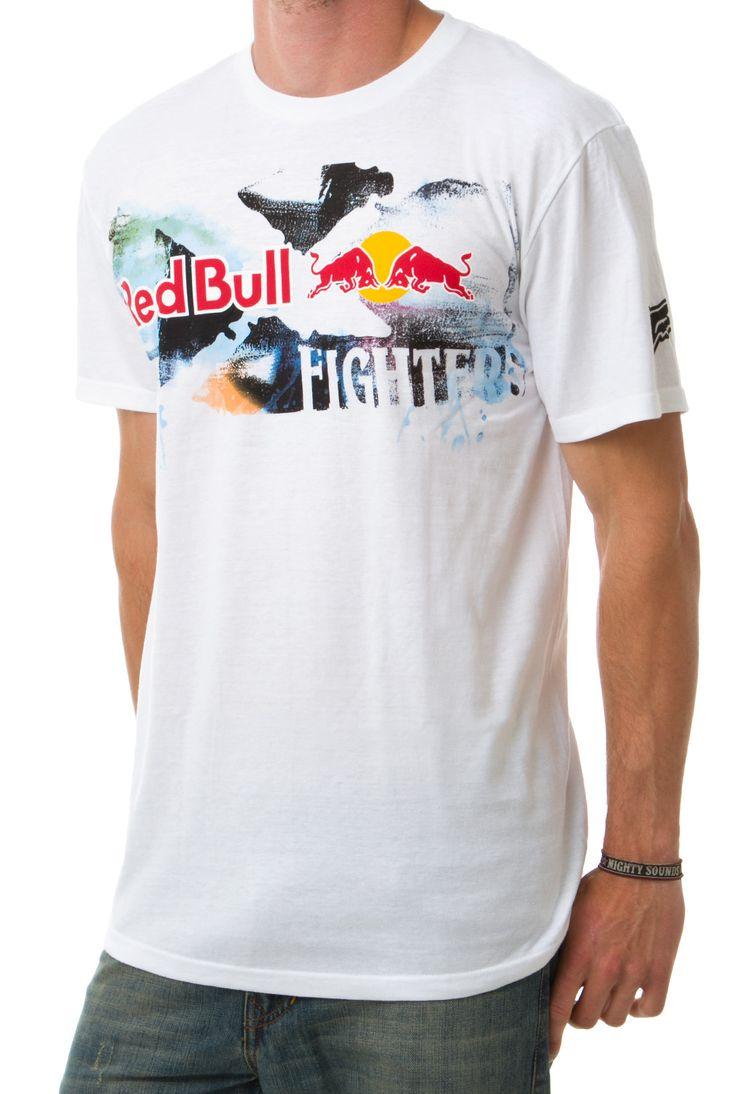 Koszulka męska FOX RedBull  http://cool-clothes.pl