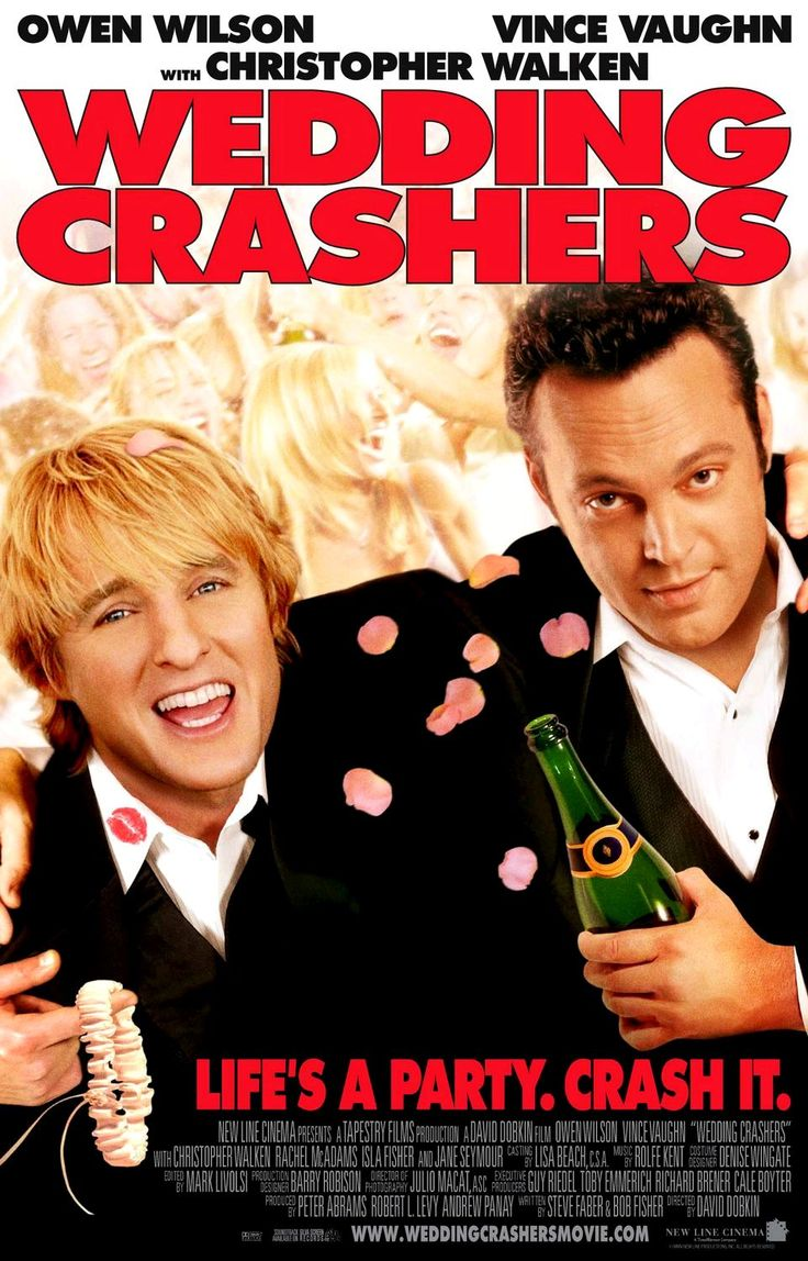 The Wedding Crashers  Hilarious Movie Wonderful Cast!