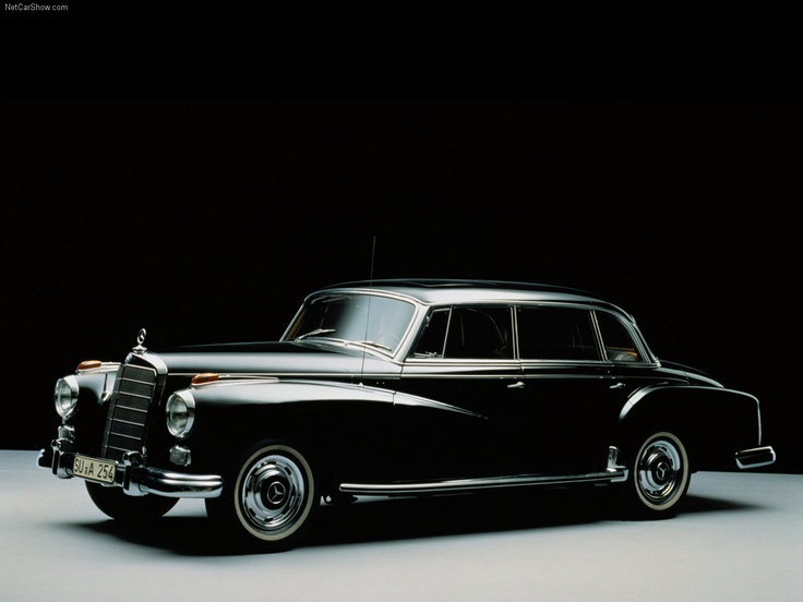 1959 Mercedes Benz 300 D.  Germany's answer to England's Rolls Royce.