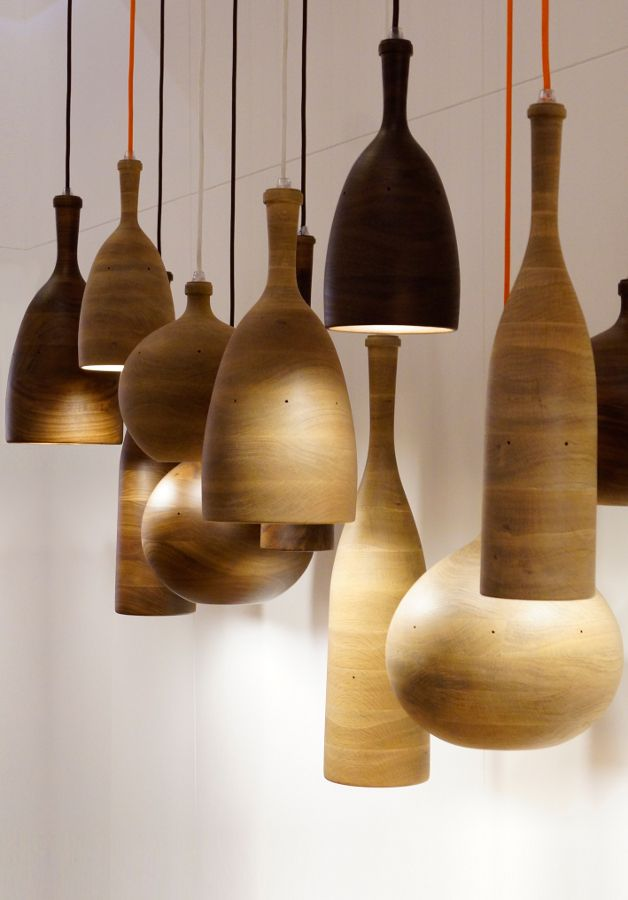 Channels at London Design Festival - New furniture and lighting collections by Samuel Chan #wood