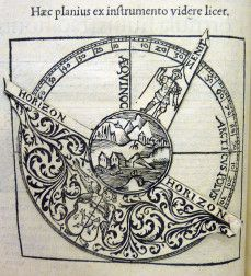 Apian, Cosmographia, 1545.