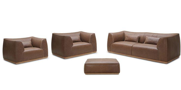 Stylish Design Furniture - Divani Casa Garner Modern Brown Leather Sofa Set, $9,524.80 (http://www.stylishdesignfurniture.com/products/divani-casa-garner-modern-brown-leather-sofa-set.html/)