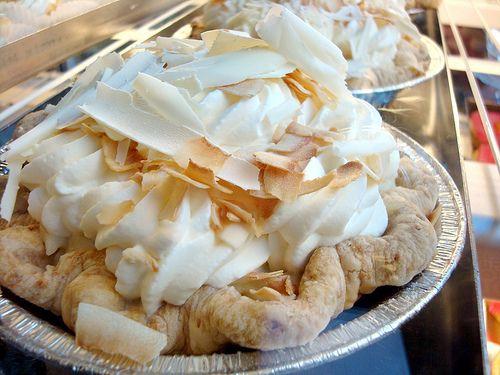 Tom Douglas' Legendary Coconut Cream PieCoconut Cream Pies, Pies Recipe, Coconut Pie, Coconut Desserts, Women, Femme Epicure, Tom Douglas, Triple Coconut, Dahlias Lounges