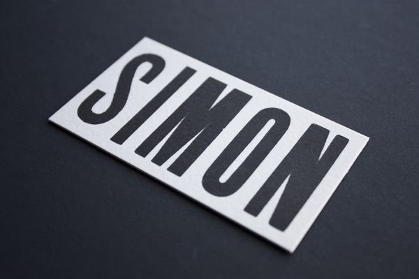 Business Cards by Simon Laliberté, via Behance