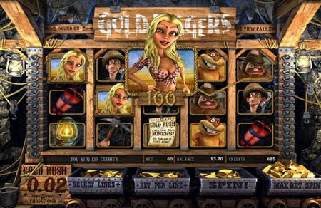 3D Slots | Gold Diggers at USA online casinos from CBR | Casino Bonus and Free Chip Review. Enjoy this brand new slot machine for free or with more real money using an exclusive casino bonus from CBR.
