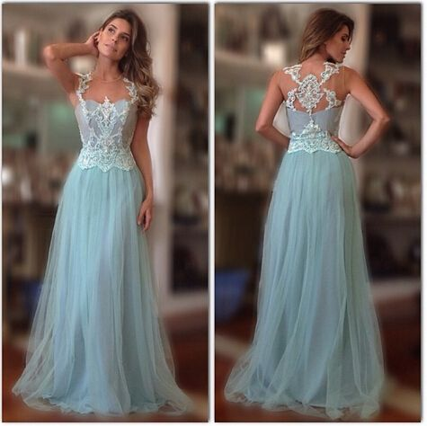 Special Occasion Dress,2015 prom dress,A Line prom dress,Style Appliqued prom dress,Tulle Women Gowns,New Arrival prom dress,15050503