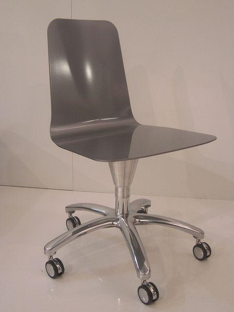 #luwan chair with wheels, design by Marco Piva for #altreforme, #district collection at Salone del Mobile 2011 #interior #home #decor #homedecor #furniture #aluminium