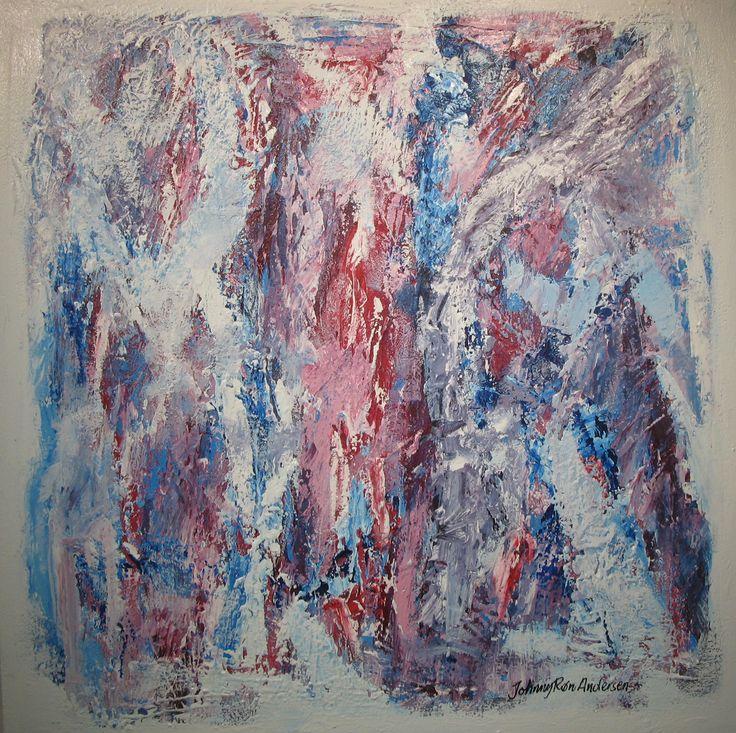 Maleri Engler 80x80 cm
