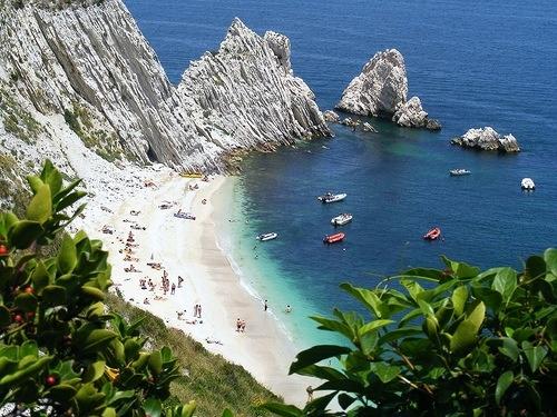 porto recanati spiaggia delle Due Sorelle - Marche - Italy