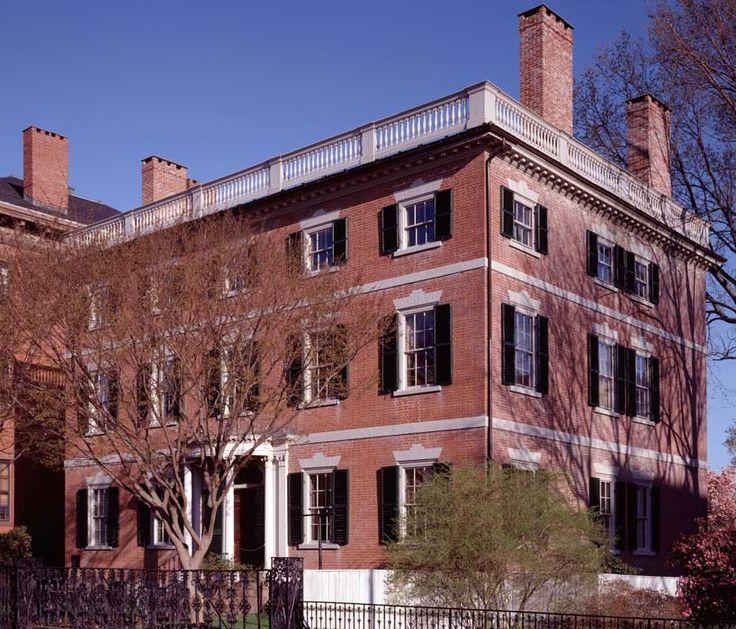 Federal Architecture   Gardner-Pingree House (128 Essex Street), 1804