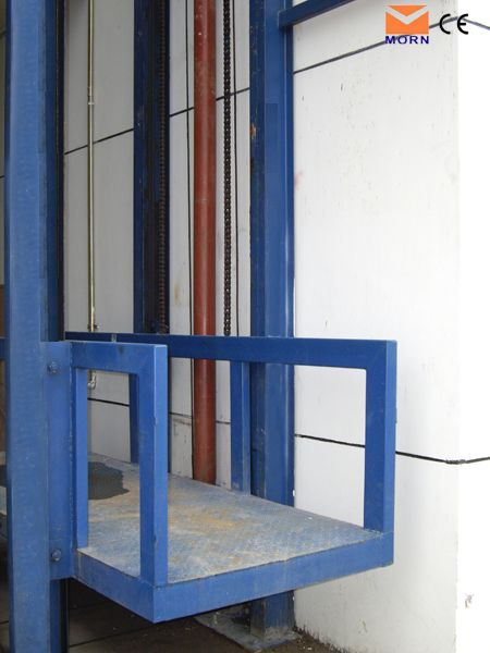 The lead rail cargo lift is also named freight lift it is for Beach house elevator cost
