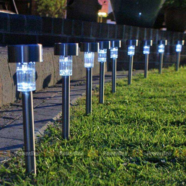 the mini stainless 1 led 3 path lightssolar lightssolar steel