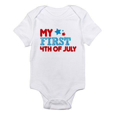 my first fourth of july outfit girl