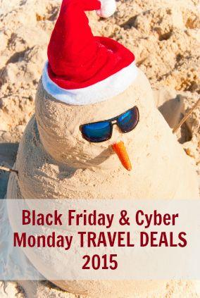 Black Friday & Cyber Monday Travel Deals 2015 via @GotoTravelGal