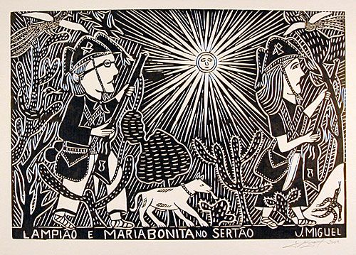 Encontro de História e Cultura de Pernambuco: Xilogravura