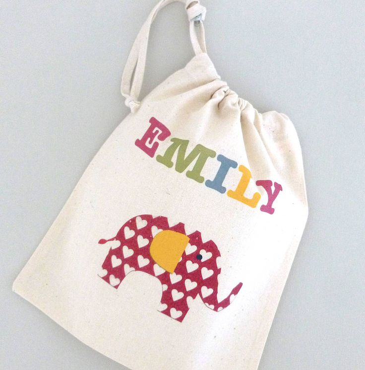 girl's personalised party bags by tillie mint | notonthehighstreet.com