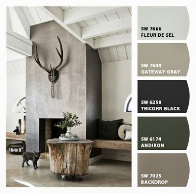 pareti tortora e mobili bianchi - Cerca con Google