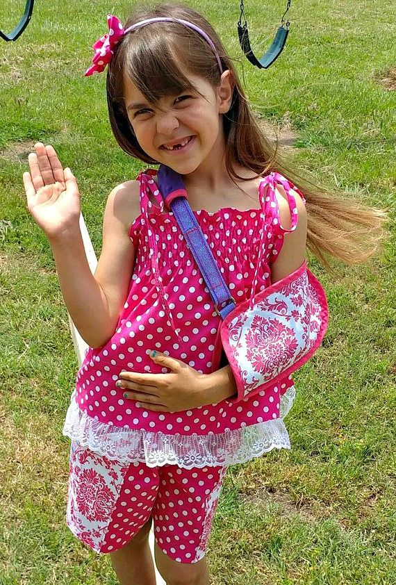 Check out this item in my Etsy shop broken arm sling, custom made arm sling, broken arm cast sling, cast support, handmade arm sling https://www.etsy.com/listing/517680980/childrens-arm-sling-pediatric-arm-sling