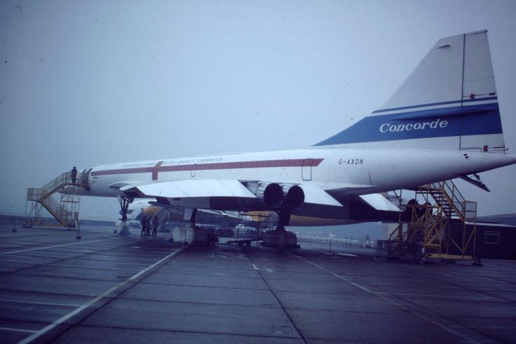 G-AXDN, 'Concorde' at Duxford, UK.