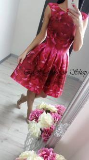 Krátke šaty A.RUDIKA/ružové NEW