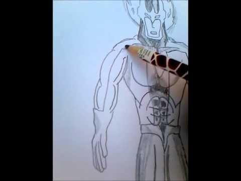 Speed drawing Inferno  Man
