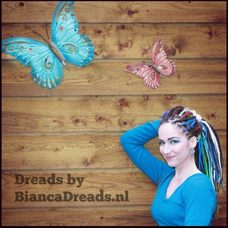 Lichtgewicht Dreads met DreadWrap by BiancaDreads.nl Tiel