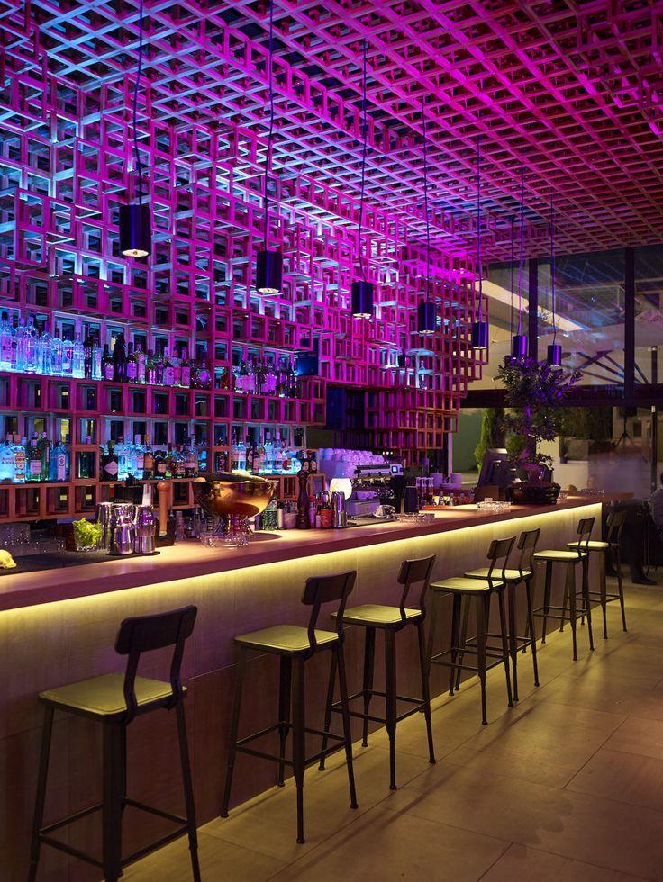 Best Club Images On Pinterest Restaurant Design Bar Designs - Bar design tribe hyperclub by paolo viera