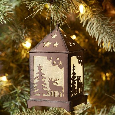 LED Lantern Ornament from Pier1