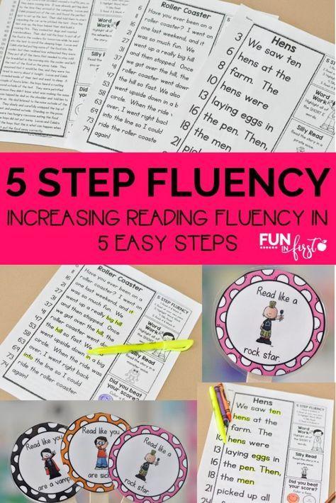 Increasing Reading Fluency in 5 Easy Steps