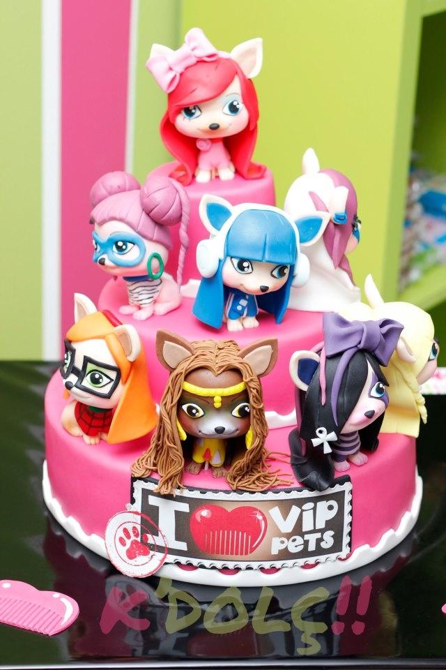 tarta VIP PETS para su evento lanzamiento europeo