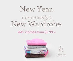 How cool is an online thrift shop?! Sign up for thredup and check out what deals they have