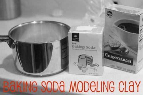 Baking Soda Modeling Clay