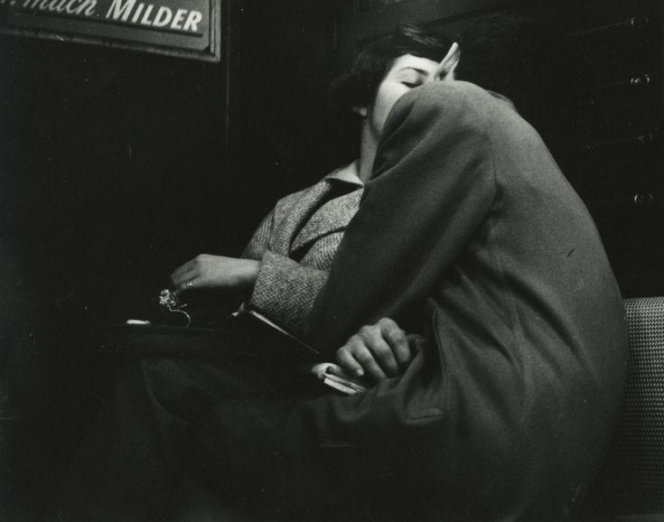 Arthur Leipzig. Subway Lovers, 1949