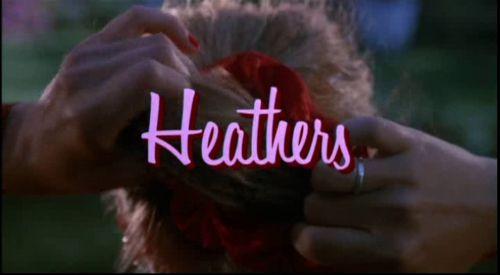 Image via We Heart It https://weheartit.com/entry/17315131/via/8562765 #80s #Heathers #movie #scrunchie #winonaryder