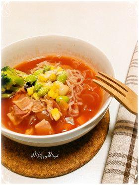 ダイエットレシピ☆トマトスープしらたき by ☆TOMO♡ [クックパッド ...