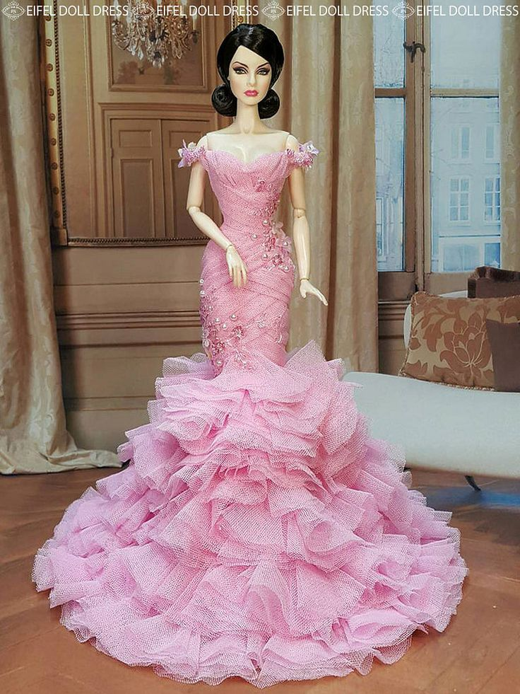 The 1184 best dresses images on Pinterest | Barbie doll, Fashion ...
