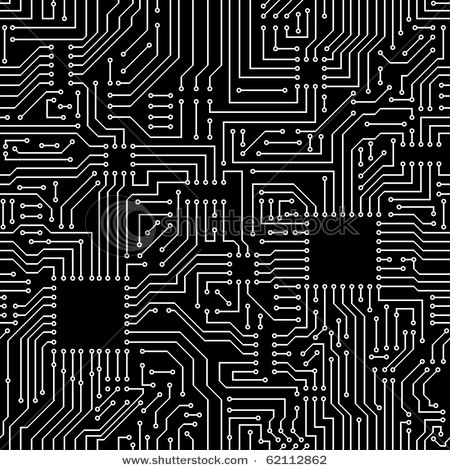 circuit board repeat pattern