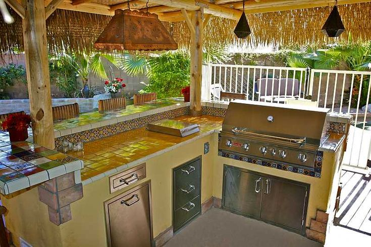 Outdoor kitchen with lanai outdoor kitchen design ideas for the house pinterest country - Tropical outdoor kitchen designs ...