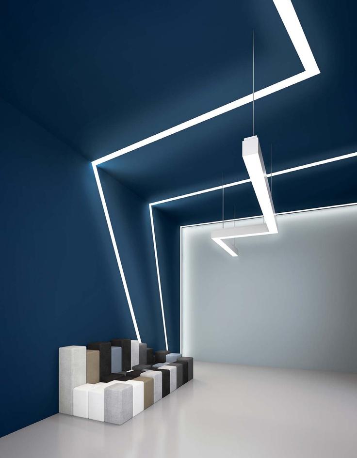 Mejores 35 im genes de iluminaci n en pinterest for Iluminacion led oficinas