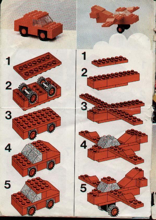 Lego car to flying car