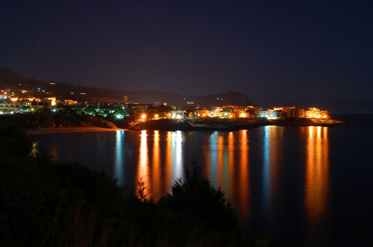 Acquerello su Mare di Stefano Messina  #marinadicamerota.sa.it #traterraemare