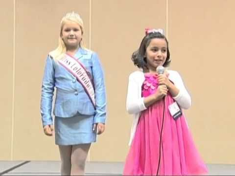 National American Miss Pageant Personal Introduction Example