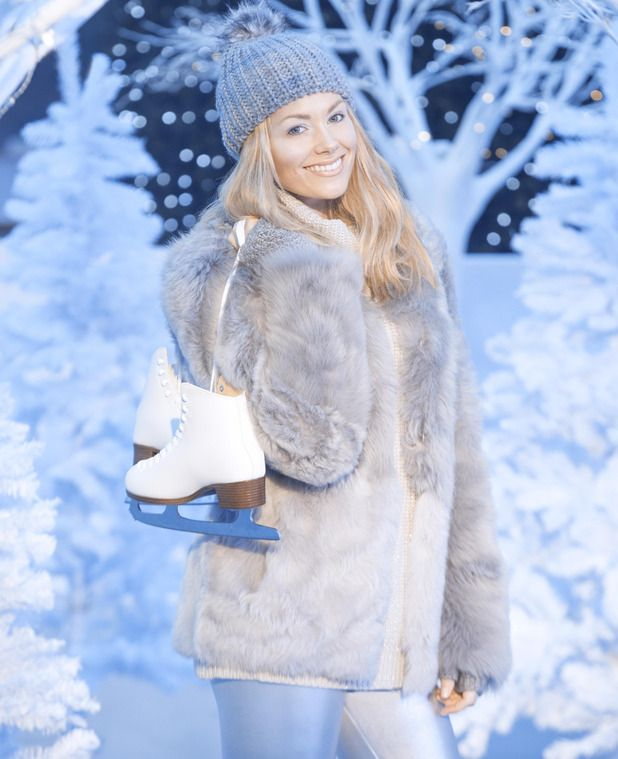 Georgia Jones launches Yorkshire's winter wonderland, York, Britain, Nov 2014
