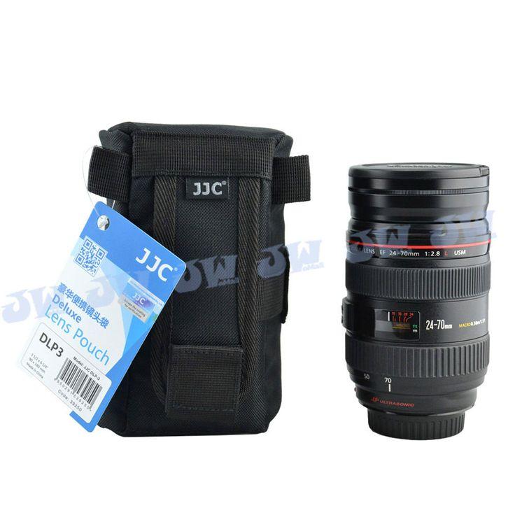 JJC Deluxe Lens Pouch Bag for CANON ZOOM LENS EF 100-300mm / 75-300mm / 24-70mm #JJC